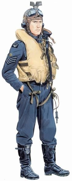 Flight Sergeant, Royal Canadian Air Force, circa 1941-1943