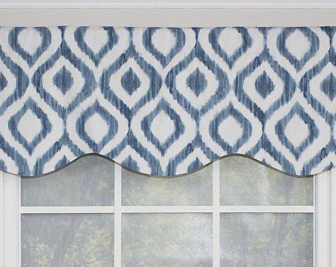 Buffalo Check Tab Flounce Valance Panel Or Pillow In 2019 Decorative Curtain Rods Valance Buffalo Check Curtains