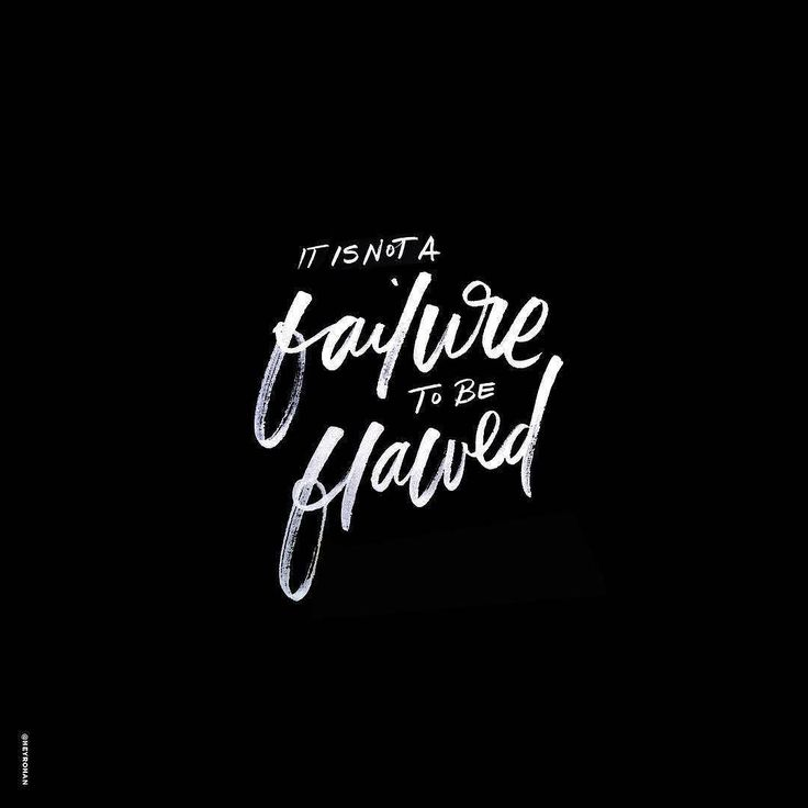 Flaws make you unique and awesome. Type by @heyrohan | #typegang - typegang.com | typegang.com #typegang #typography