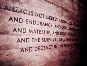 Anzac is not merely about loss.