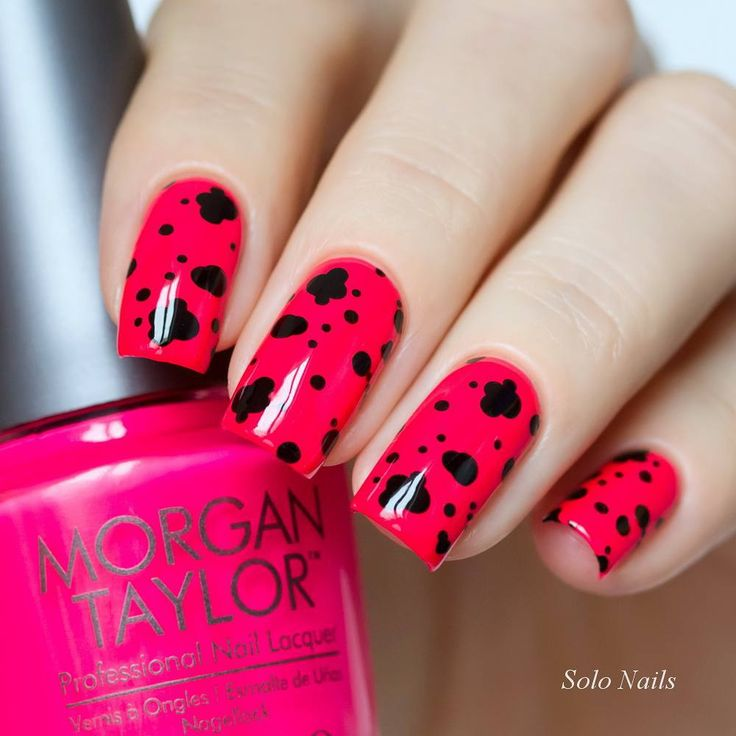Nail Cake Blue Black Splodges Cow Print: 88 Best Images About MORGAN TAYLOR BY GELISH® On Pinterest