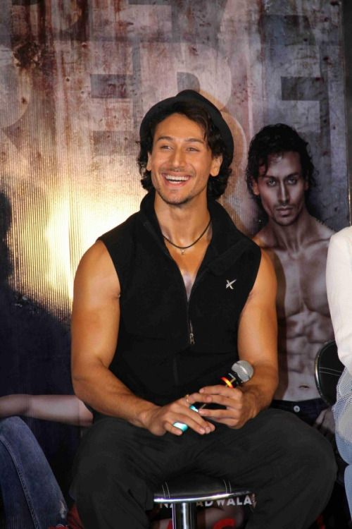 Tiger Shroff during Baaghi Promotions