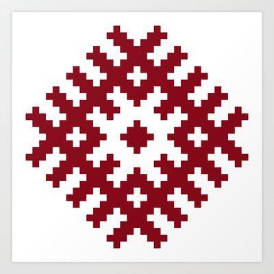 Latvian pattern
