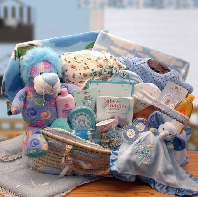 190 best Gift Baskets & Wagons! images on Pinterest | Baby gift ...