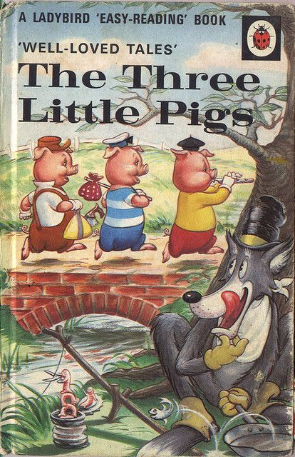 The Three Little Pigs~ This was my favorite story! My mom would use different voices for each pig & the wolf! It was awesome!