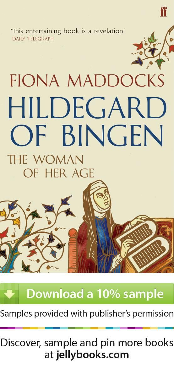 Best known today as a fine composer, the twelfth-century German abbess Hildegard of Bingen was also a religious leader and visionary, a poet, naturalist and writer of medical treatises. Despite her cloistered life she had strong, often controversial views on sex, love and marriage too - a woman astonishing in her own age... 'Hildegard of Bingen' by Fiona Maddocks - Download a free ebook sample and give it a try! Don't forget to share it, too.