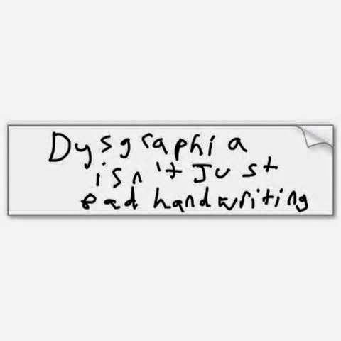 25+ best ideas about Dysgraphia on Pinterest | Accommodations for ...