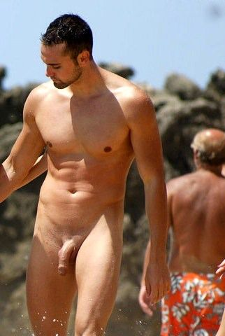Hot Naked Male Swimmers