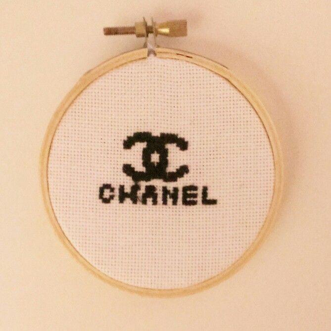 Chanel cross stitch