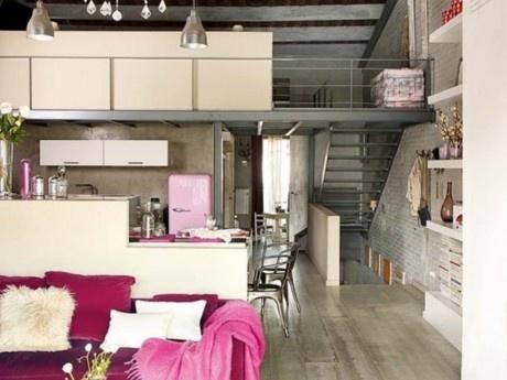 Βιομηχανική διακόσμηση στα lofts