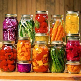 Grand bocal de légumes à l'italienne