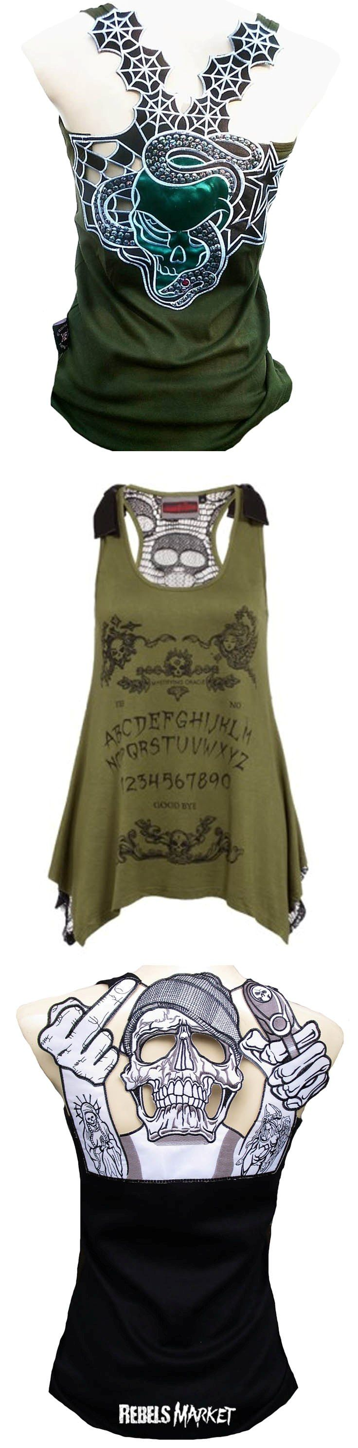 Shop women's punk tops at RebelsMarket!