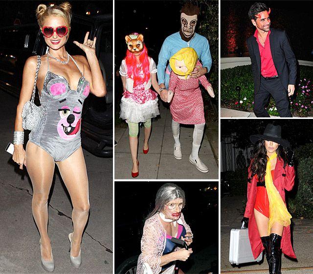 Celebrities' Halloween 2013 Costumes Pictures