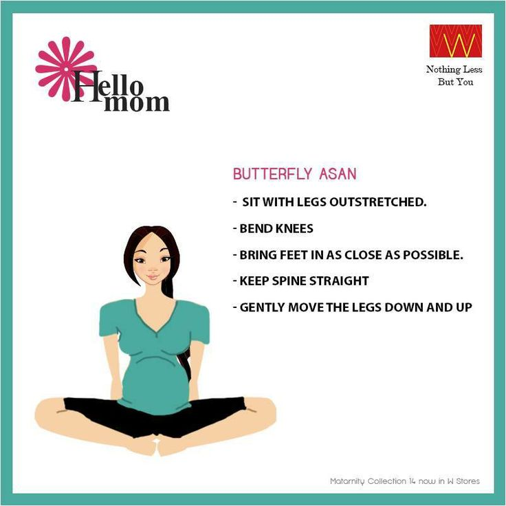 Feel the #bliss of being a #mom with butterfly asan.