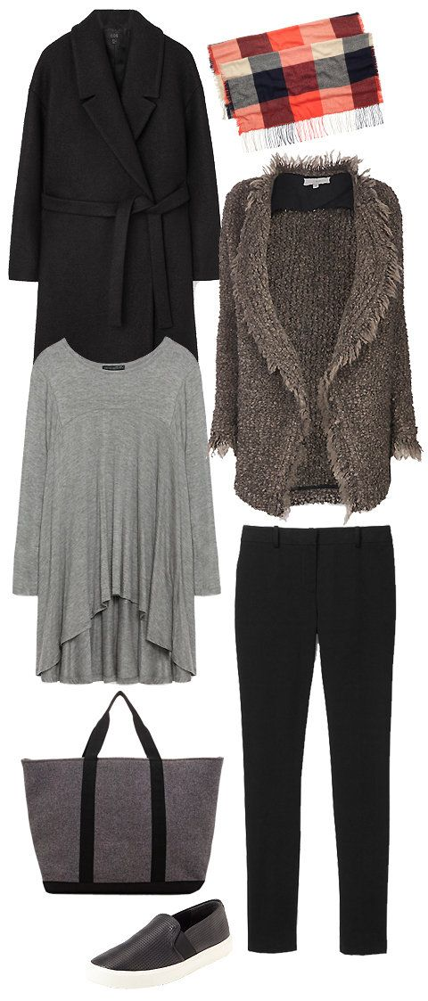 Shop this airport look that comfy, practical, but still put-together.