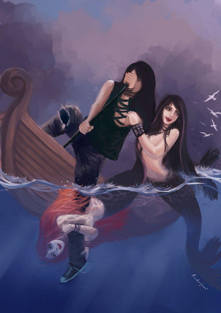 Ballad of the Wicked Sea by oshirockingham.deviantart.com on @deviantART