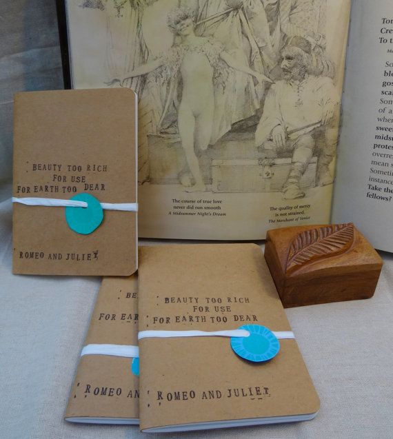 These little Seawhites sketchbooks are a delight to use. Shakespeares words, Beauty too rich for use, for Earth too dear are roughly stamped on the front.  You can write your own inspiring words inside, or just your ramblings, if youd rather!  Theyre just perfect to keep in your bag. Dimensions: 29.6 x 21 x 1.4 cm, 150gsm.