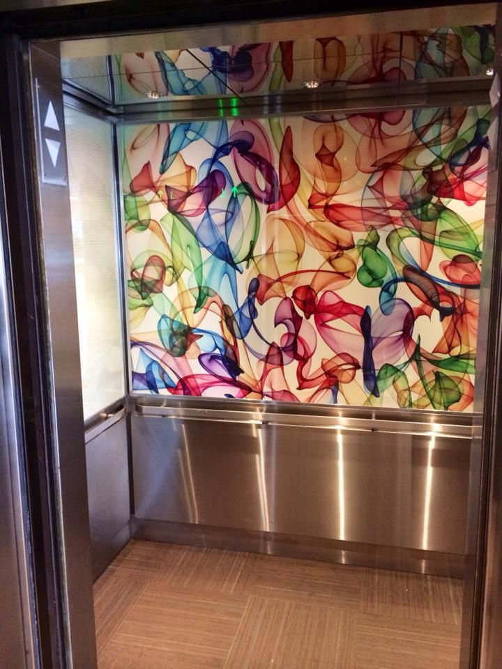 Our 2 new elevators are up and running!