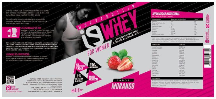 WHEY PROTEIN MORANGO i9life – FOR WOMAN – 400g  Whey Protein é um suplemento alimentar de proteína concentrada e isolada do soro de leite destinado a atletas e praticante de atividade física para aumento de massa muscular.  Whey Protein Morango i9life for Woman fornece 7g de colágeno por dose e melhora o desempenho físico.  Além disso, auxilia a recuperação dos músculos e no ganho de massa magra.    https://store-cevi.lojaintegrada.com.br/