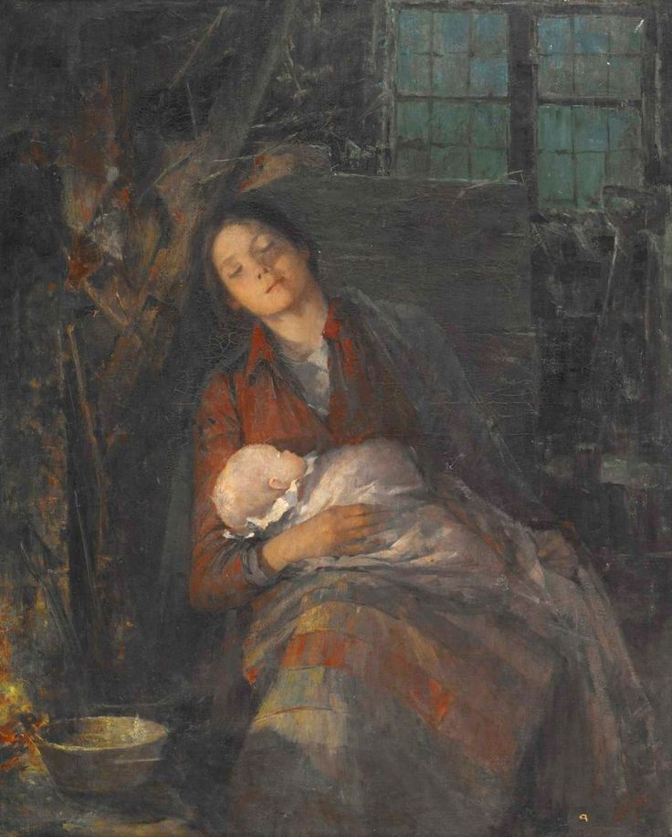 Nordgren, Anna (1847-1916) - Rest: Mothers And Child, Mothers Rest, Art Paintings, Artsy Stuff, Anna Nordgren, Narrative Art, Anna 18471916, Nordgren 18471916, Adorable Mothers