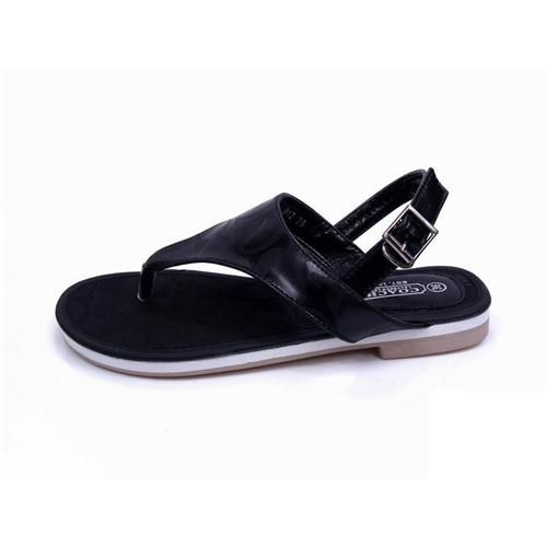 Look Here! Coach Logo Signature Black Sandals CPC Outlet Online