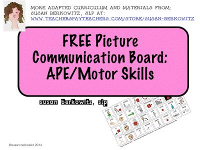 8 best tips for communicating images on pinterest aphasia susan berkowitzs free ape communication board fandeluxe Choice Image