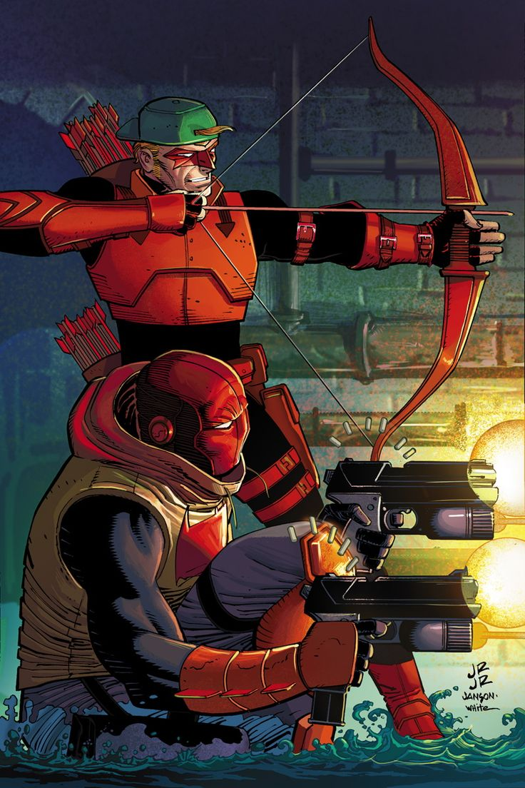 Red Hood/Arsenal #11 Variant Cover by John Romita, Jr. & Klaus Janson
