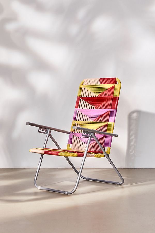 woven outdoor lawn chair in 2019 northeast bungalow lawn chairs rh pinterest com