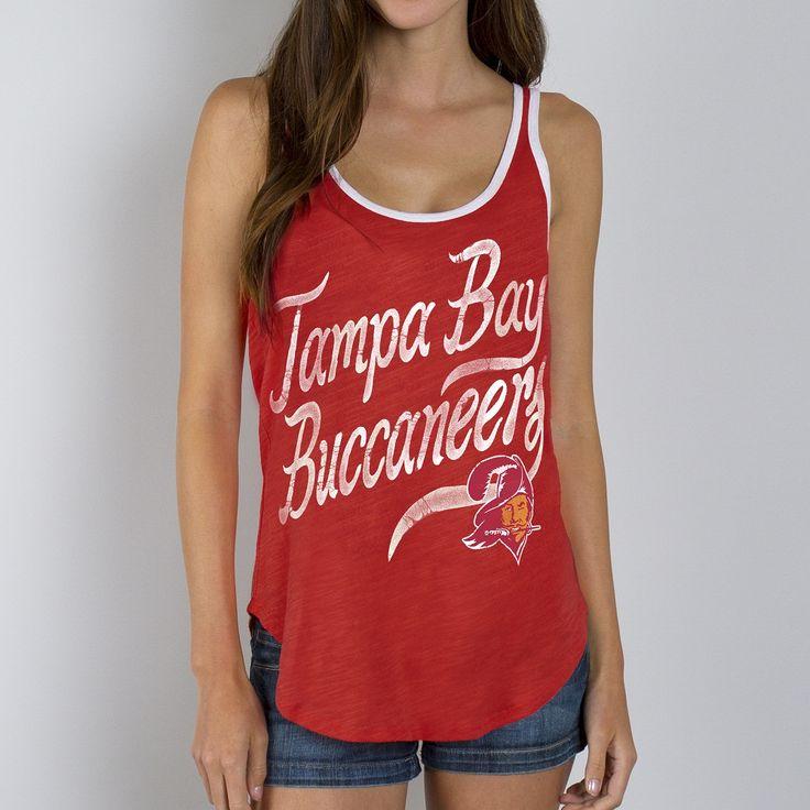 Bucs - Official Online Store - Buccaneers Women's Roster Ringer Tank Top