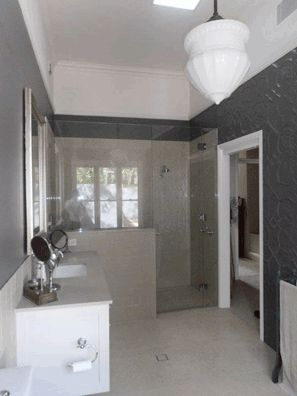The ever popular #Shield #pressedtinpanels in this bathroom as a feature wall