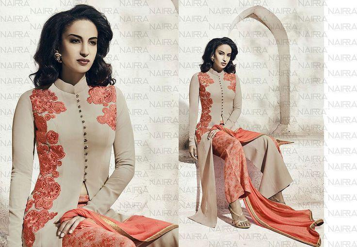 Designer Indian Salwar Kameez Anarkali Pakistani Bollywood Suit Dress Ethnic…