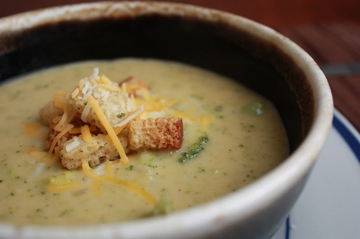 Broccoli Cheddar Ale Soup, this combines my irrational love of ...