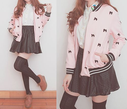 Cute Asian Fashion - http://insidemydaydream.tumblr.com