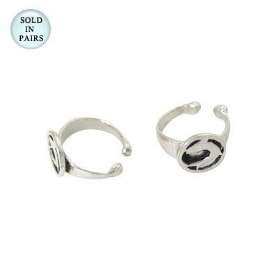 Ear Cuffs Sterling Silver, Dolphin Design Body Jewelry. $18.99. Non Piercing. Adjustable Size. .925 Sterling Silver