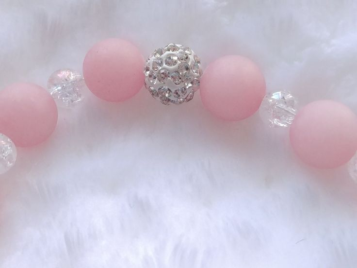 Rose Quartz Bracelet on Etsy shop from BracebyPatti