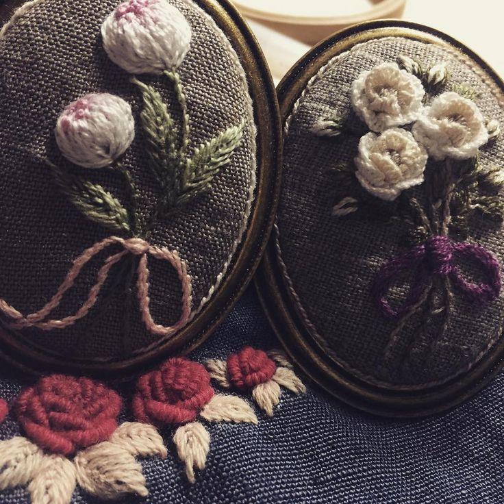 #자수브롯지 #embroidery #hendmade #stitch #자수 #자수타그램 #프랑스자수 #느낌자수 #자수소품