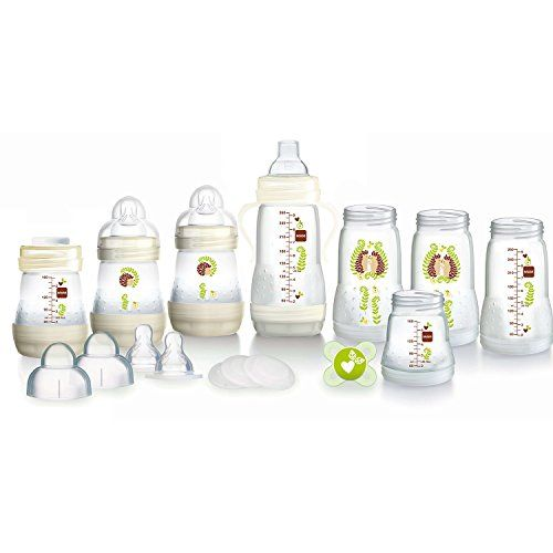 MAM Feed and Soothe Set White