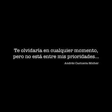 Por todo intento & no puedo olvidarte, eres el pasado más presente en mi vida!  Hermosa frase del maestro Andrés Castuera-Micher para acompañar esta noche.
