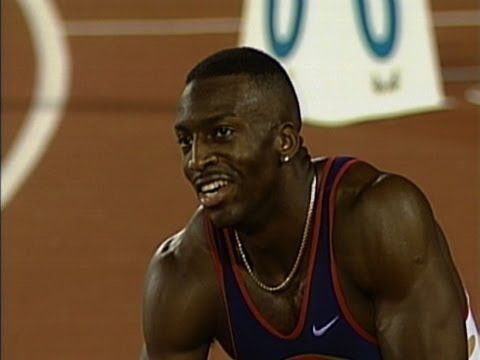 Michael Johnson Breaks 200m & 400m World Records - Atlanta 1996 Olympics