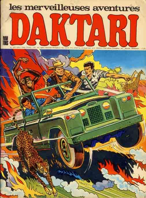 What can you say about this one, Tonto? Daktari adventures