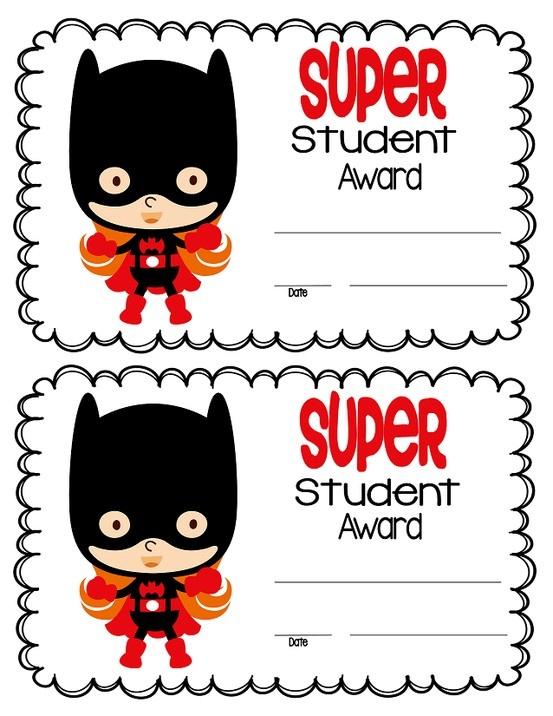 Superhero themed certificates!  Click on Fan Only Freebies to grab them for yourself!