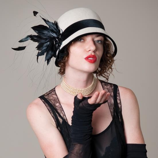 ... Leah C. Couture Millinery · another feathered hat!