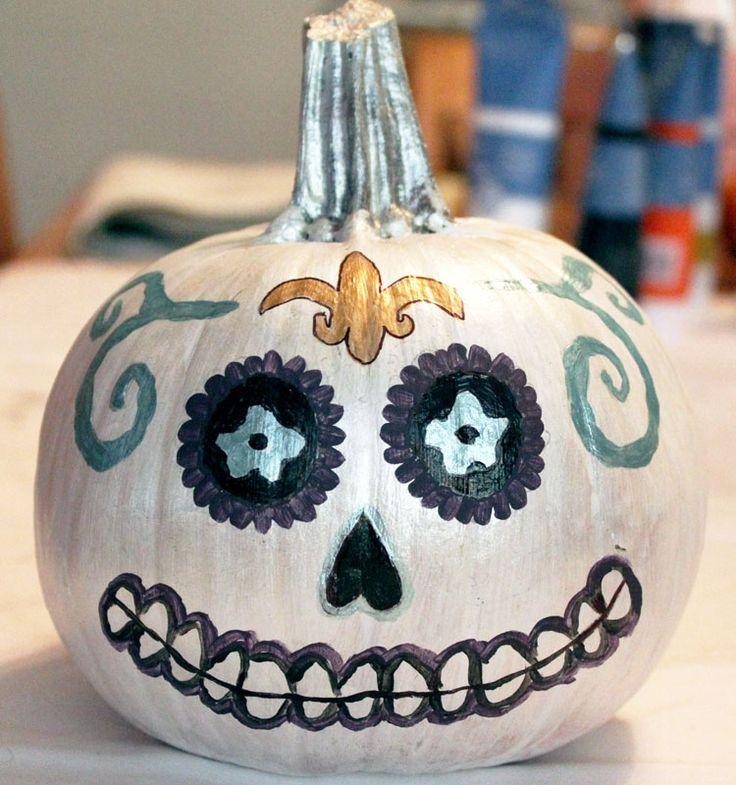 How To Paint Pumpkins | Vampy Varnish