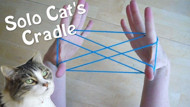 Solo Cats Cradle - How to play with only one person! Step by Step #stringgames #games #kids