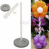 Wish   1 Set Balloon Column Base Stand Display Wedding Birthday Party DIY Decoration(Fast Deliver)