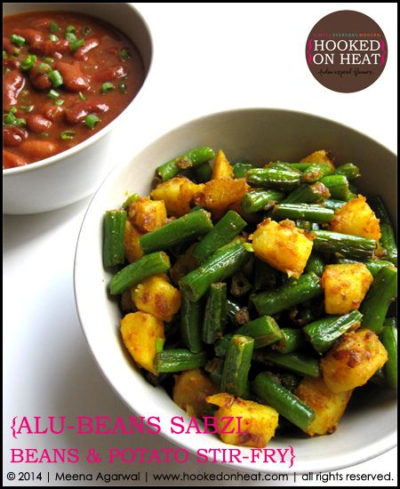 Love the potato? Try this simple green beans and potato stir-fry as a side with your dinner tonight. Alu Beans, recipe here: http://www.hookedonheat.com/2015/03/09/ask-meena-alu-beans/  For more simple, healthy and mouth-watering recipes the whole family will love, head on over to www.hookedonheat.com