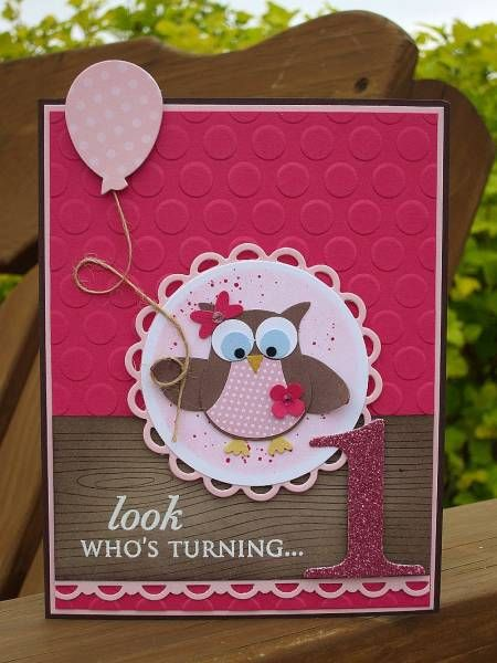 Look who's Turning 1 by dbarry - Cards and Paper Crafts at Splitcoaststampers