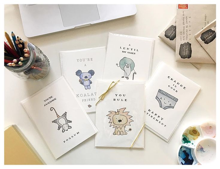 Cute & Quirky Handmade Greeting Cards