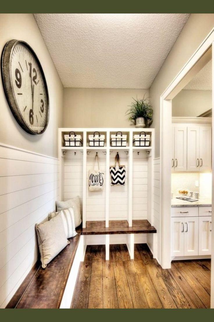 Modern Farmhouse Mudroom Laundry Room Combination Modernfarmhouse Modernfarmhousedecor Modernfarmhousedecorideas Modernfarmhousedecoratingideas