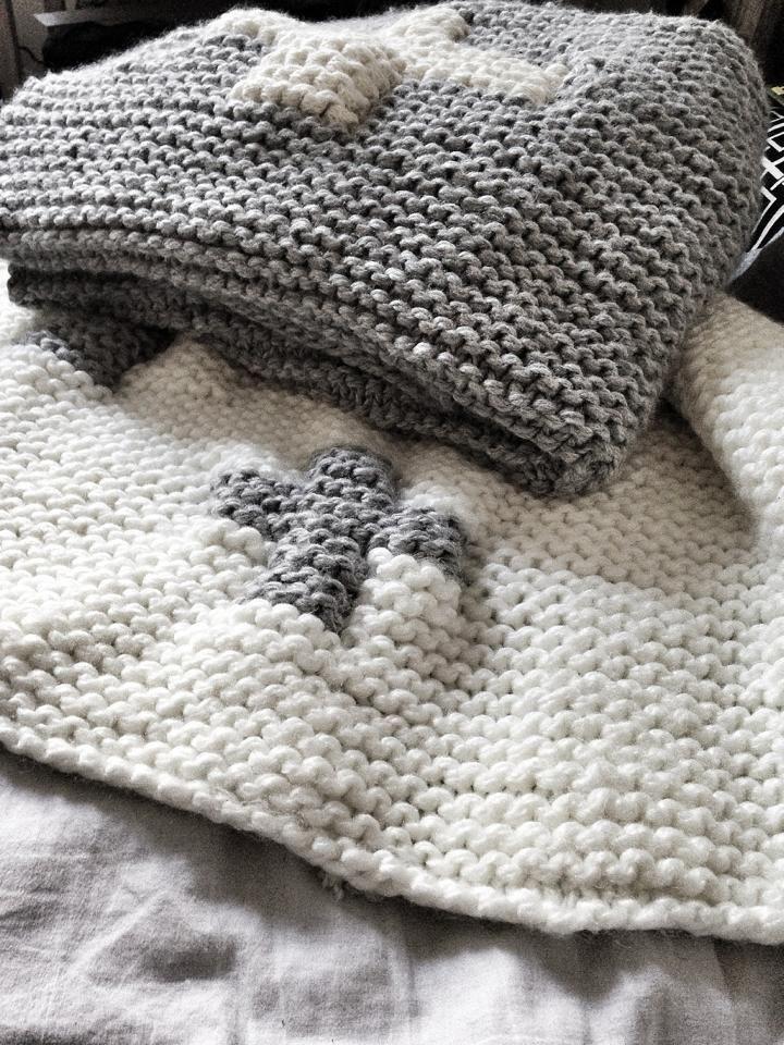 big wool blanket by Cez http://mechantstudio.com